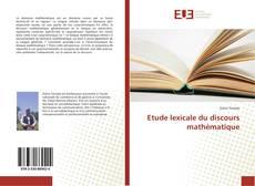 Etude lexicale du discours mathématique kitap kapağı