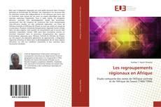 Buchcover von Les regroupements régionaux en Afrique