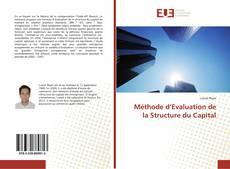 Méthode d'Evaluation de la Structure du Capital kitap kapağı