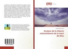 Portada del libro de Analyse de la théorie nietzschéenne de la mort de Dieu