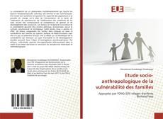 Обложка Etude socio-anthropologique de la vulnérabilité des familles