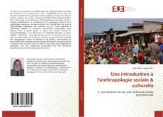Borítókép a  Une introduction à l'anthropologie sociale & culturelle - hoz
