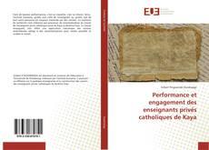 Buchcover von Performance et engagement des enseignants privés catholiques de Kaya