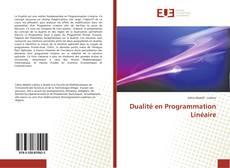 Couverture de Dualité en Programmation Linéaire