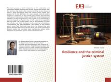 Bookcover of Resilience and the criminal justice system