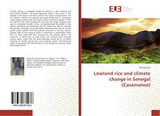 Lowland rice and climate change in Senegal (Casamance)的封面