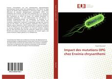 Обложка Impact des mutations OPG chez Erwinia chrysanthemi