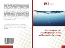 Capa do livro de Technologies and infrastructure of water adduction in Cameroon