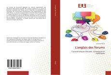 Bookcover of L'anglais des forums