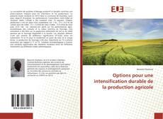 Portada del libro de Options pour une intensification durable de la production agricole
