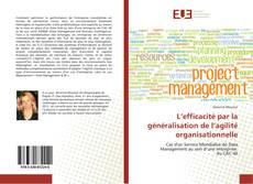 Couverture de L'efficacité par la généralisation de l'agilité organisationnelle