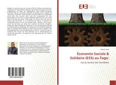 Économie Sociale & Solidaire (ESS) au Togo: kitap kapağı