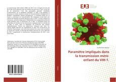 Capa do livro de Paramètre impliqués dans la transmission mère-enfant du VIH-1.
