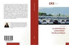 La distribution automobile: Etude juridique的封面