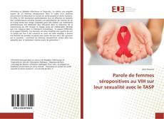 Обложка Parole de femmes séropositives au VIH sur leur sexualité avec le TASP