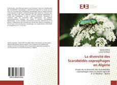 Couverture de La diversité des Scarabéidés coprophages en Algérie