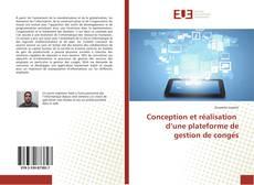 Bookcover of Conception et réalisation d'une plateforme de gestion de congés
