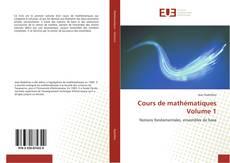 Bookcover of Cours de mathématiques Volume 1