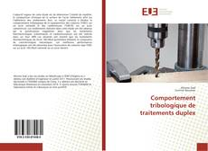 Bookcover of Comportement tribologique de traitements duplex