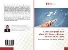 Capa do livro de La mise en place d'un dispositif d'apprentissage de français en Ligne