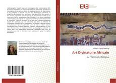 Bookcover of Art Divinatoire Africain