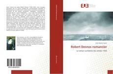 Обложка Robert Desnos romancier