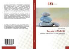 Capa do livro de Energie et Stabilité