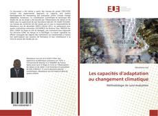 Les capacités d'adaptation au changement climatique kitap kapağı