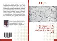 Le développement de l'intimité chez des adolescents infectés au VIH kitap kapağı