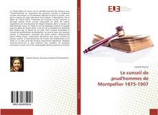 Le conseil de prud'hommes de Montpellier 1875-1907的封面