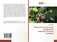 Copertina di Research on Ficus carica polyphenols: Influence of drying processes