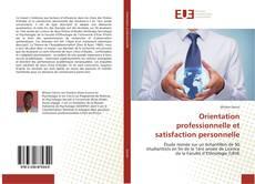 Buchcover von Orientation professionnelle et satisfaction personnelle