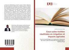 Portada del libro de Eaux usées traitées réutilisées en irrigation et impacts agricoles