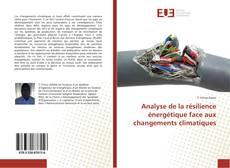 Portada del libro de Analyse de la résilience énergétique face aux changements climatiques