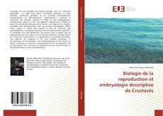 Borítókép a  Biologie de la reproduction et embryologie descriptive de Crustacés - hoz