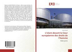 Capa do livro de L'islam devant la Cour européenne des droits de l'homme