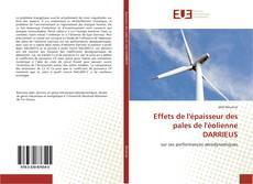 Couverture de Effets de l'épaisseur des pales de l'éolienne DARRIEUS
