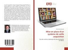 Bookcover of Mise en place d'un système de veille acquisition