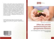 Effets des activités socioéconomiques des groupements féminins kitap kapağı