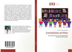 Borítókép a  Contribution de l'Etat - hoz