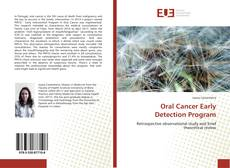 Bookcover of Oral Cancer Early Detection Program