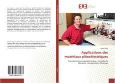 Applications des matériaux piézoélectriques kitap kapağı