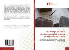 Portada del libro de Le concept de vertu pratique dans les romans de Madame de Genlis