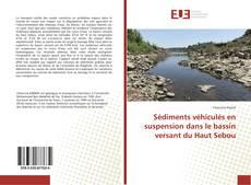 Capa do livro de Sédiments véhiculés en suspension dans le bassin versant du Haut Sebou