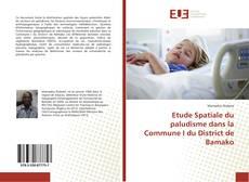 Capa do livro de Etude Spatiale du paludisme dans la Commune I du District de Bamako