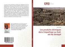 Capa do livro de Les produits chimiques dans l'orpaillage au Sud-est du Sénégal