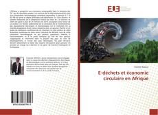 Bookcover of E-déchets et économie circulaire en Afrique