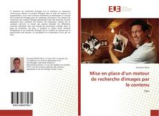 Buchcover von Mise en place d'un moteur de recherche d'images par le contenu