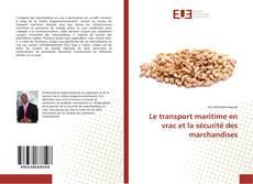 Capa do livro de Le transport maritime en vrac et la sécurité des marchandises
