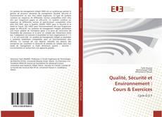 Borítókép a  Qualité, Sécurité et Environnement : Cours & Exercices - hoz